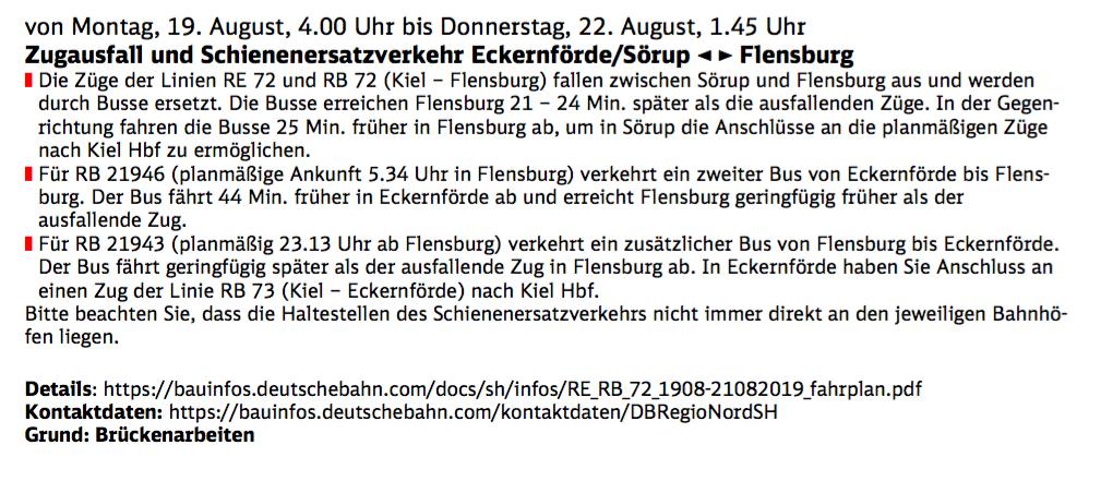 Linie 14 flensburg